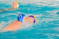 Water polo competition Stock Image