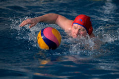 Water polo competition Royalty Free Stock Images