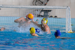 Water polo competition Stock Photos