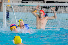 Water polo competition Royalty Free Stock Photo