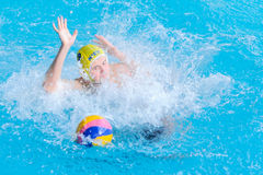 Water polo competition Stock Photo