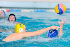Water polo competition Royalty Free Stock Photography