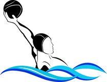 Water polo del logotipo libre illustration