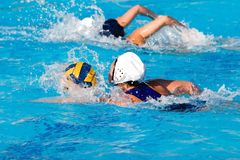 Water Polo Game Royalty Free Stock Photos