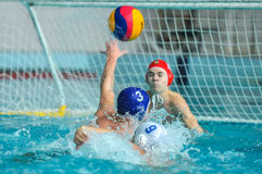 Water polo game Royalty Free Stock Images