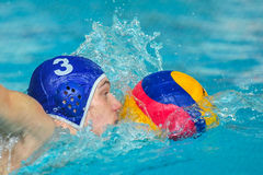 Water polo game Royalty Free Stock Photo