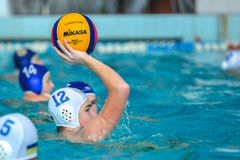 Water polo game Stock Photos