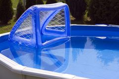 Water polo goal Stock Photography