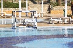 Water polo goal Royalty Free Stock Photos