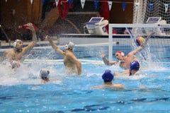 Water polo goal Stock Photo