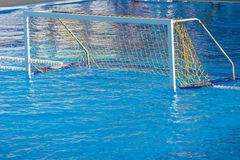 Water polo goal Royalty Free Stock Photos