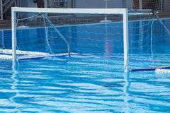 Water polo goal Royalty Free Stock Photo