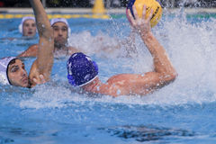 Water polo match Royalty Free Stock Photography
