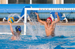 Water Polo match Royalty Free Stock Photos