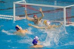 Water polo match Stock Photos