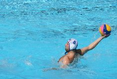 Water Polo / Moment Before A Shot Royalty Free Stock Photography