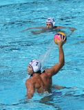 Water Polo / Penalty Shot royalty free stock images