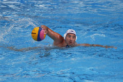 Water polo player Royalty Free Stock Images