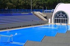 Water polo pool Stock Photo