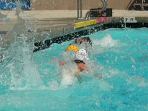 Water Polo series Royalty Free Stock Images