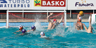Water Polo - shot Royalty Free Stock Photography