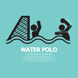 Water Polo Sport Sign Royalty Free Stock Photos