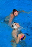 Water polo - Stepp Prageu vs. Spandau 04 Berlin II Stock Photos