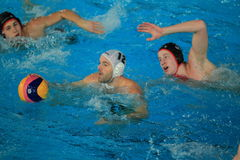 Water polo - Stepp Prague vs. Spandau Berlin II Royalty Free Stock Image