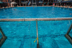Water-Polo Swimming Pool Action Royalty Free Stock Photo