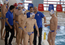 Water Polo Team Stock Image
