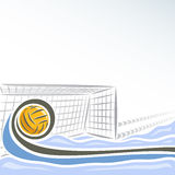 Water Polo for text Royalty Free Stock Photos