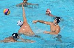 Water polo/tiro Imagen de archivo