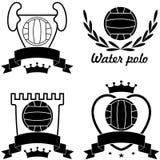 Water polo. Vector illustration (EPS 10 Stock Photos