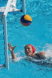 Water polo women. Hungary vs russia Stock Photo
