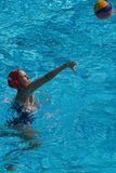 Water polo women. Hungary vs russia Royalty Free Stock Image