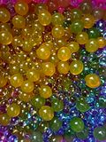 Water polymer balls for kids and decor Stock Photo