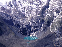 Water pond glacier Stock Image