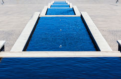 Water Ponds Steps Stock Image