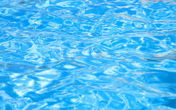 Water in pool. Waves on a surface of water in pool Royalty Free Stock Photos
