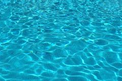 Water in pool Royalty Free Stock Image