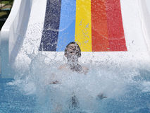 Water pool in aquapark Stock Photography