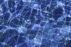 Water Pool Background Stock Image