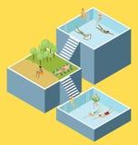Water Pool Fun Concept Stock Photo