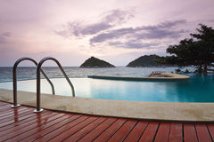 Water pool at koh tao. South of thailand Royalty Free Stock Photos