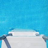 Water and pool ladder Royalty Free Stock Photos