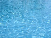 Water Pool. Swimming pool, water surface Stock Images