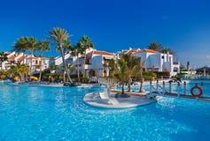 Water pool at Tenerife island Stock Images