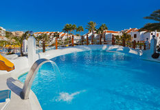 Water pool at Tenerife island Stock Photos