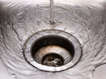 Water pouring Stock Images