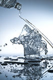 Water pouring Royalty Free Stock Images